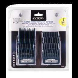 Andis Master® Premium Metal Clip Comb Set - 7 stk.